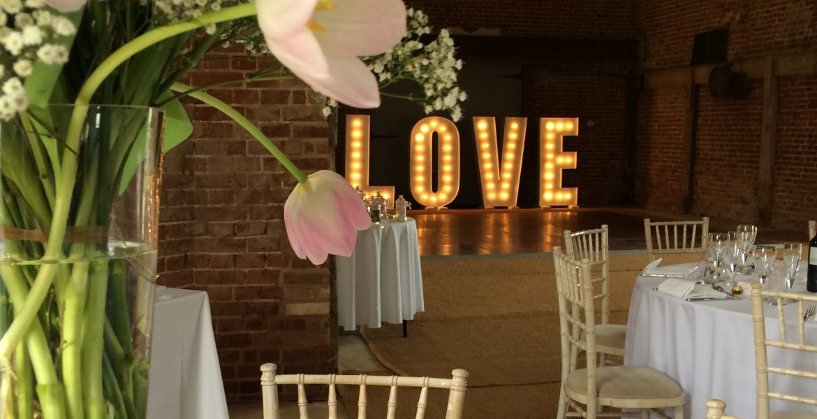 The Octagon Barn dressed for a beautiful wedding last weekend.