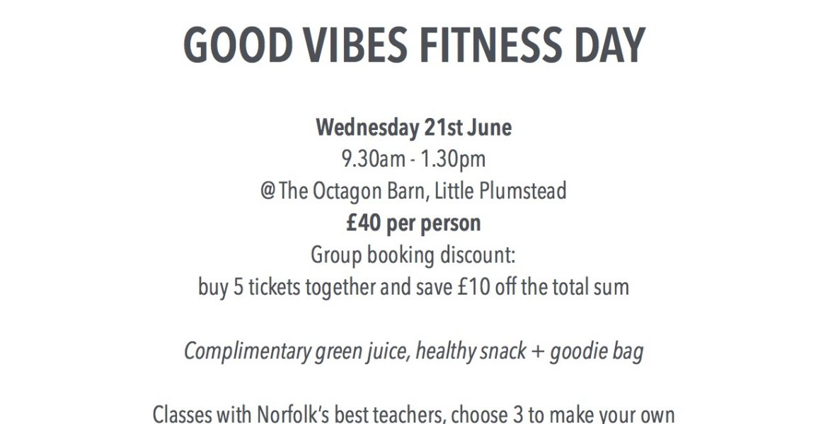 Fitness courses at The Octagon Barn