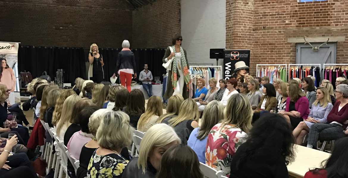 Charity Fashion Show for the Norwich School with Scarlet and The Style Show